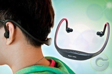 Buy Safe NZ Ltd - Sports Wireless Headphones With FM Radio & MP3 Player