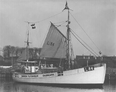Fiskeskipper Laust.M.Røn Lemvig, Denmark
