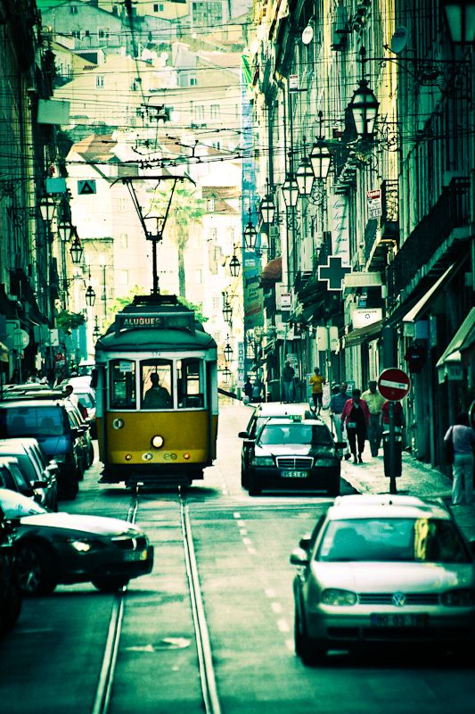 LISBON, PORTUGAL. Lisbon enchants travelers with its white bleached limestone…