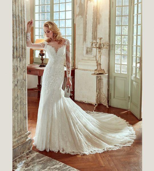 Vestidos de novia manga larga 2017: 60 diseños elegantes y con mucho estilo Image: 36
