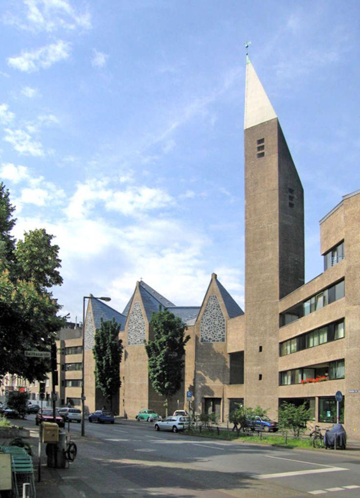 gottfried böhm - kirche st gertrud