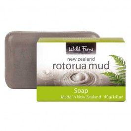 Wild Ferns Rotorua Mud Soap with Manuka Honey 125g