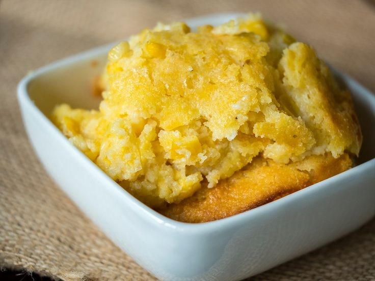 Sweet Corn Spoon Bread