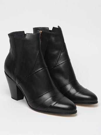 Gareth Pugh Men's Nappa Leather Cuban Heel Boot