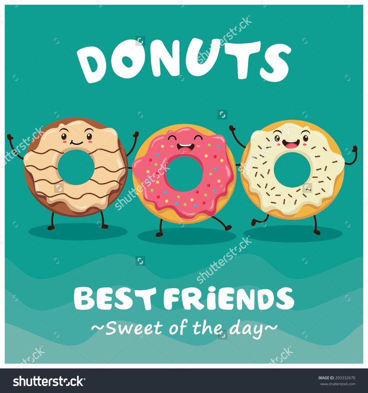 stock-vector-vintage-donuts-cartoon-character-poster-design-293332670.jpg…