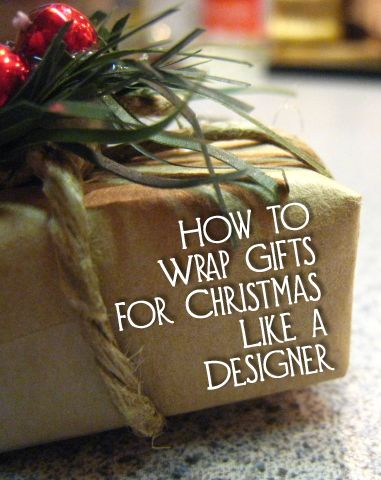 Christmas is a special time of year when your gifts are part of the holiday decorations.  Gifts may be on display for up to a month prior to them being opened, so they should look their best.  Here are the steps for how to wrap gifts for Christmas like a designer.