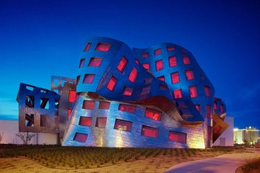 Cleveland Clinic Lou Ruvo Center for Brain Health / Frank Gehry #titanium