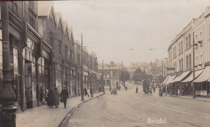 c1913  Looking up Gloucester Road towards Zetland Road junction | by brizzle born and bred