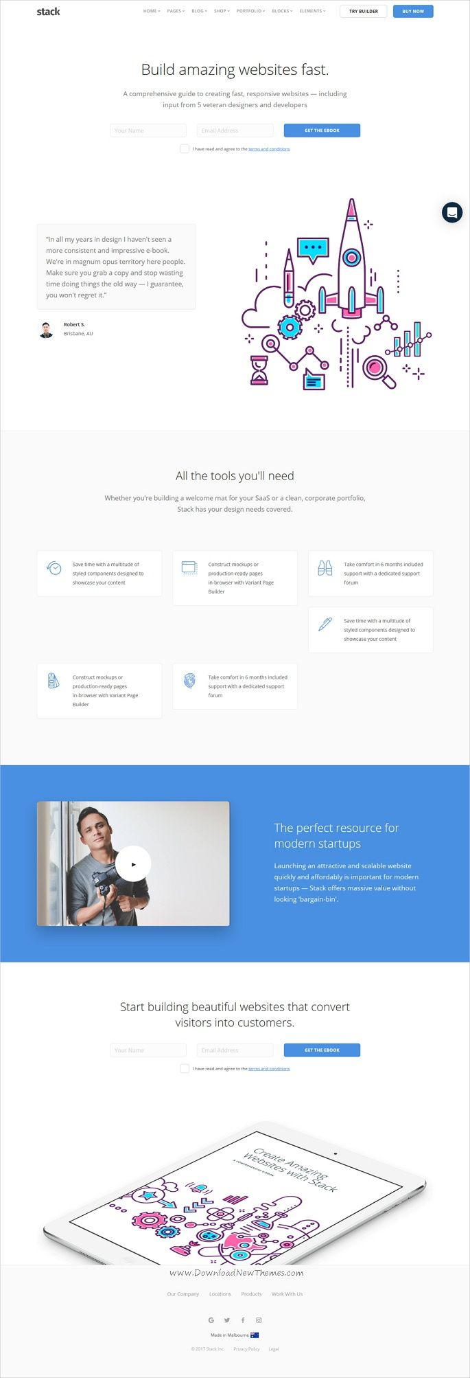 Stack is a robust & flexible responsive HTML #bootstrap template for #software multipurpose stunning websites with 30+ homepage layouts, 140+ pages, 270 UI blocks and variant page builder included free download now➩ https://themeforest.net/item/stack-multipurpose-html-with-page-builder/19337626?ref=Datasata