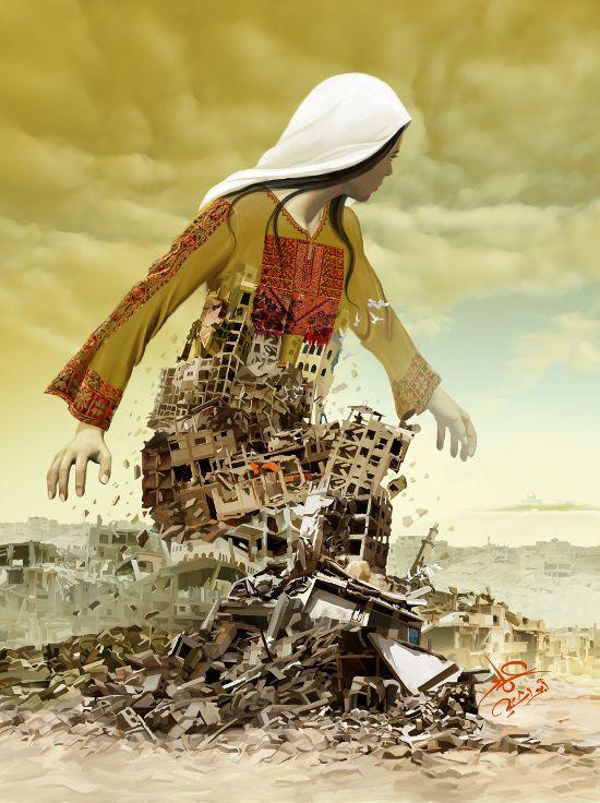 Des affiches pour Gaza: l'envoi d'Imad Abu Shtayyah - Humaginaire.net : pour un nouvel imaginaire politique (chantier)