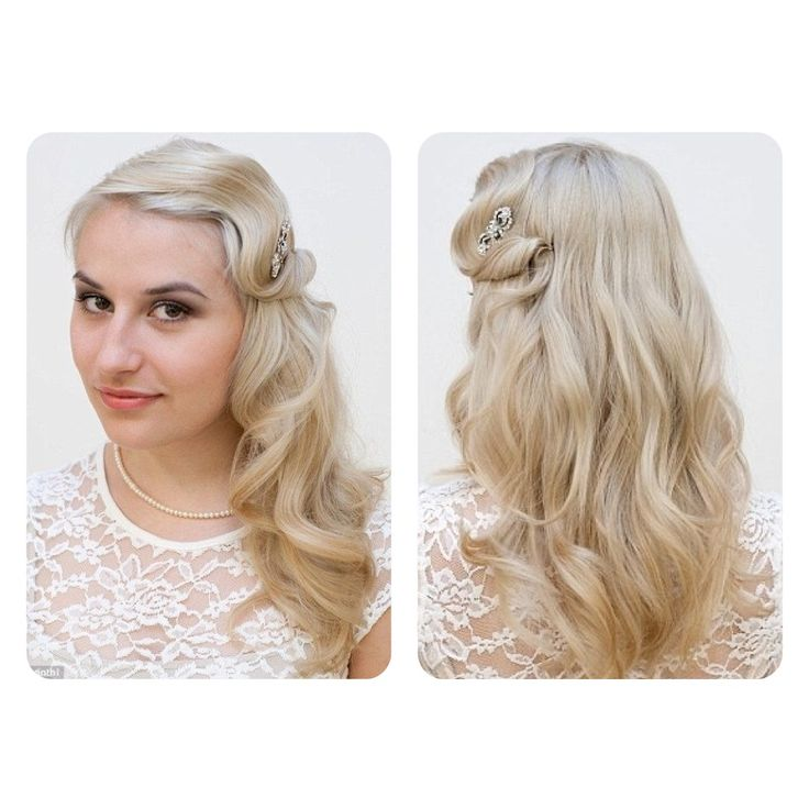 Need Bridal Hair Inspiration We Have You Covered: Great Gatsby Hair Style 002