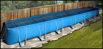 Ez pools are portable pools pools pinterest portable pools luxury pools and luxury for How to swim laps in small pool
