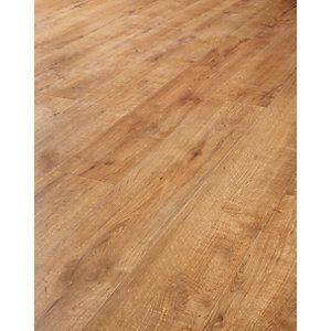 Wickes Bergen Oak Laminate Flooring | Wickes.co.uk- Hall & dining room flooring