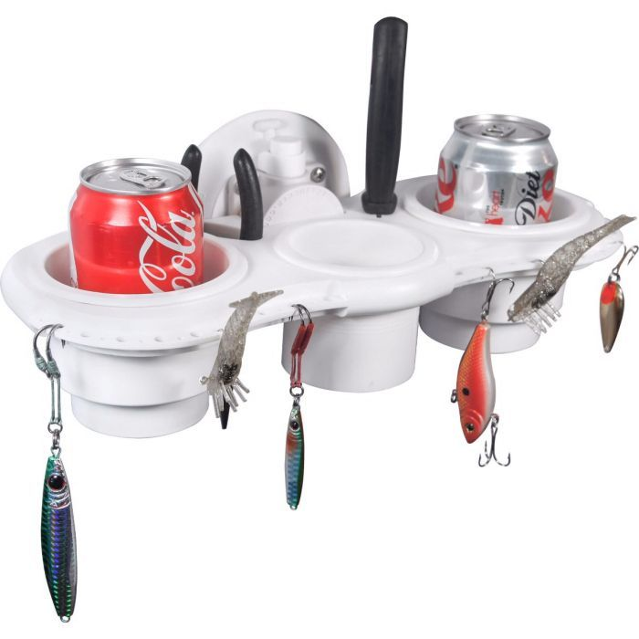 Fishermans Cup Holder with SeaSucker Vacuum Mount