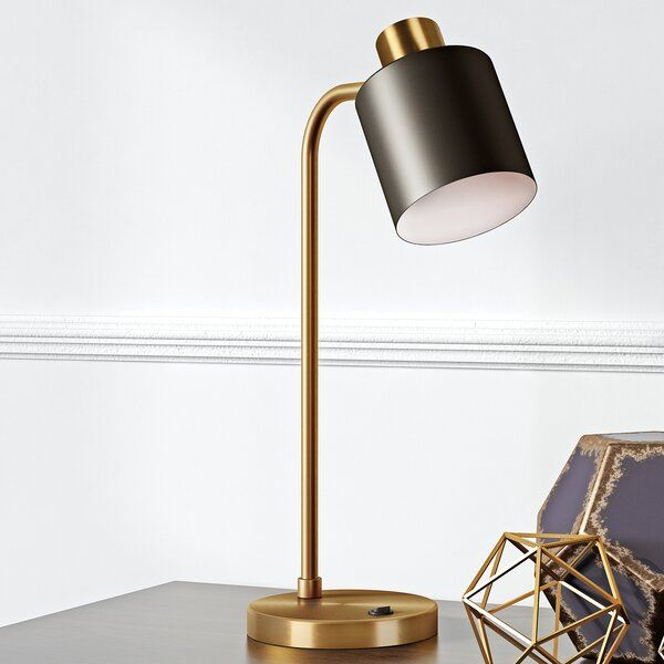 Brighten Up Your Workspace Or Bedside With This Simple And Sophisticated Desk Lamp The All Metal Body And Shade Highlight The Be Lamp Desk Lamp Best Desk Lamp