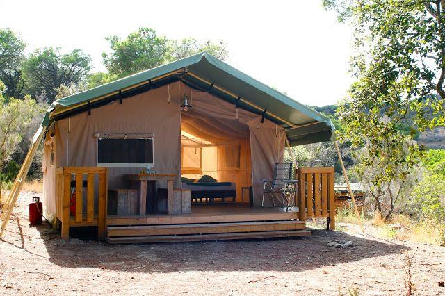 Glamping in de mei vakantie? Geniet van de luxe van een safari lodgetent op unieke plekken! Kijk op www.tendi.nl