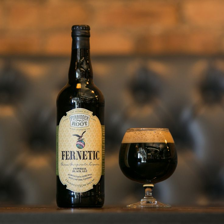 Another example of the blurring lines between beverage categories: Fernet-Branca's exotic botanics are the basis for Fernetic - a new craft beer developed exclusively with Chicago's Forbidden Root