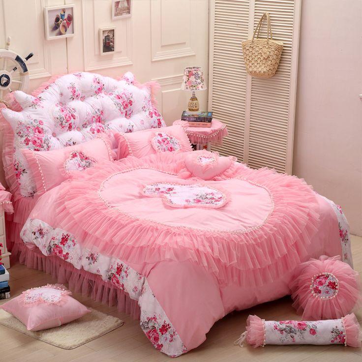 les 25 meilleures id es de la cat gorie ensemble de literie rose sur pinterest literie. Black Bedroom Furniture Sets. Home Design Ideas