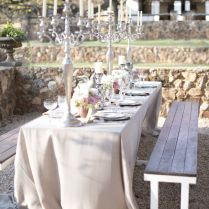 Liesl le Roux Photography Wedding decor table setting