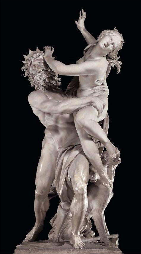 El rapto de Proserpina, de Bernini