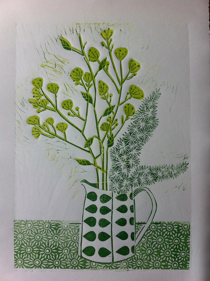 Another gorgeous linocut