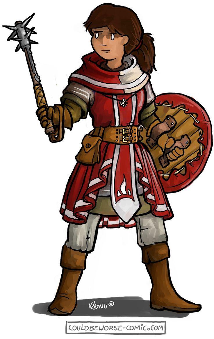 Larp character idea (outfit) female warrior, Enfant Lumière larp group