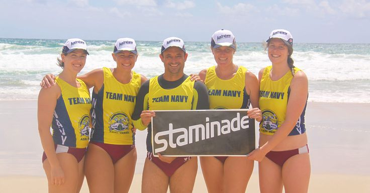 Meet the women's qualifying crew, Mooloolaba Amcals who will represent Staminade at Round 4 of the Ocean Thunder Surf Boat Series.   #staminade #staminadequenchers #surfboatrowing #oceanthunder
