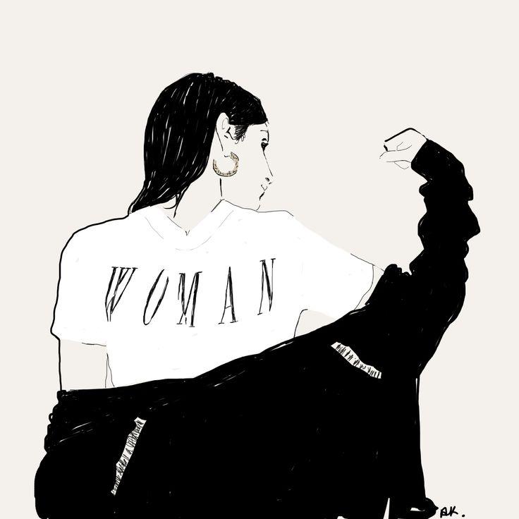 Illustration of Loulou De Saison   #fashionillustration #illustration #fashion #blogger
