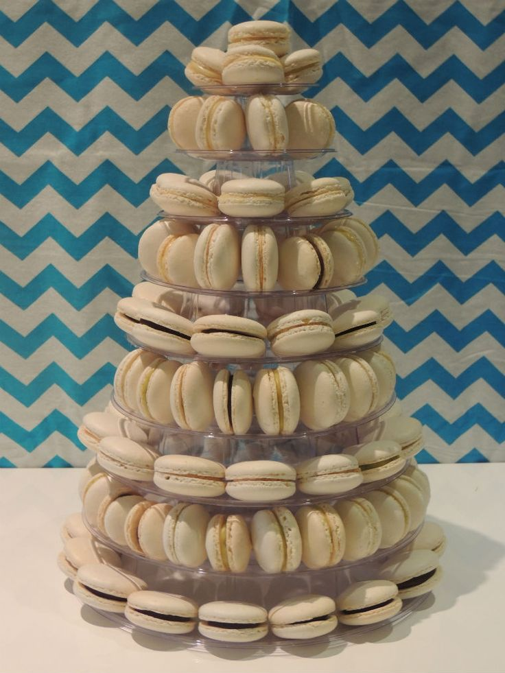 Once Upon A Pie | How to make a macaron tower