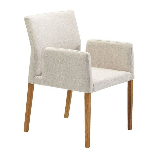 Kare Design Chaise Avec Accoudoirs Mira Ecru Kare Design La Redoute Chaise Design Chaises Bois Chaise Haute