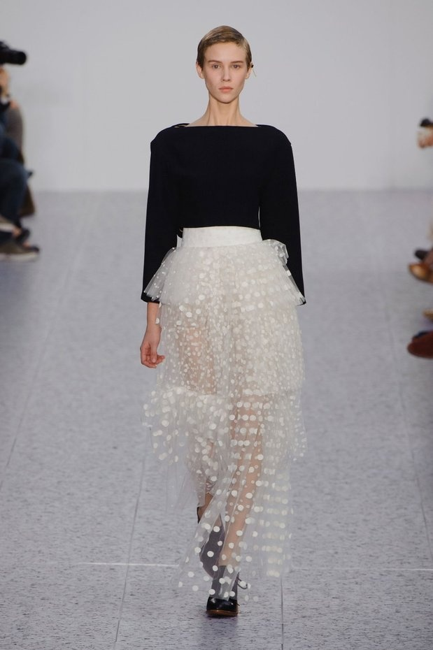 sheer, tiered, and dotted...chloe aw13