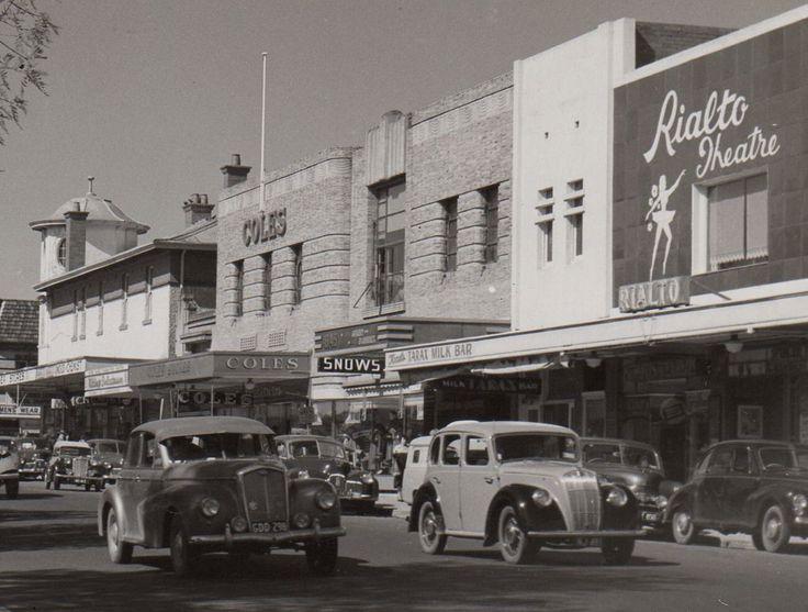 Whitehorse Rd Box Hill 1950