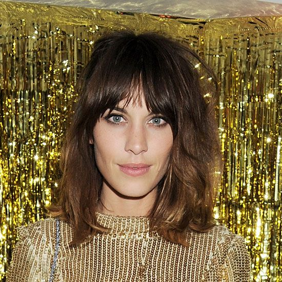 Steal Alexa Chung's textured, tousled strands with Evo Mister Fantastic Texture Spray.