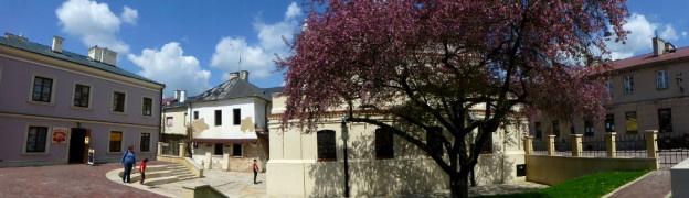 Żydowska synagoga w Zamościu