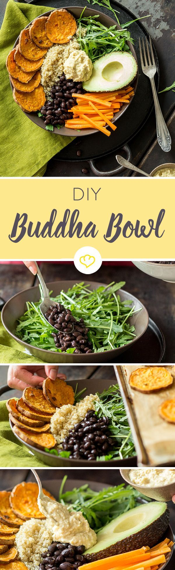 1 Schale - 1000 Möglichkeiten. Die Buddha Bowl ist das gesunde Kontrastprogramm zum schnellen, fettigen Snack. Wie der Trend funktioniert, erfährst du hier.