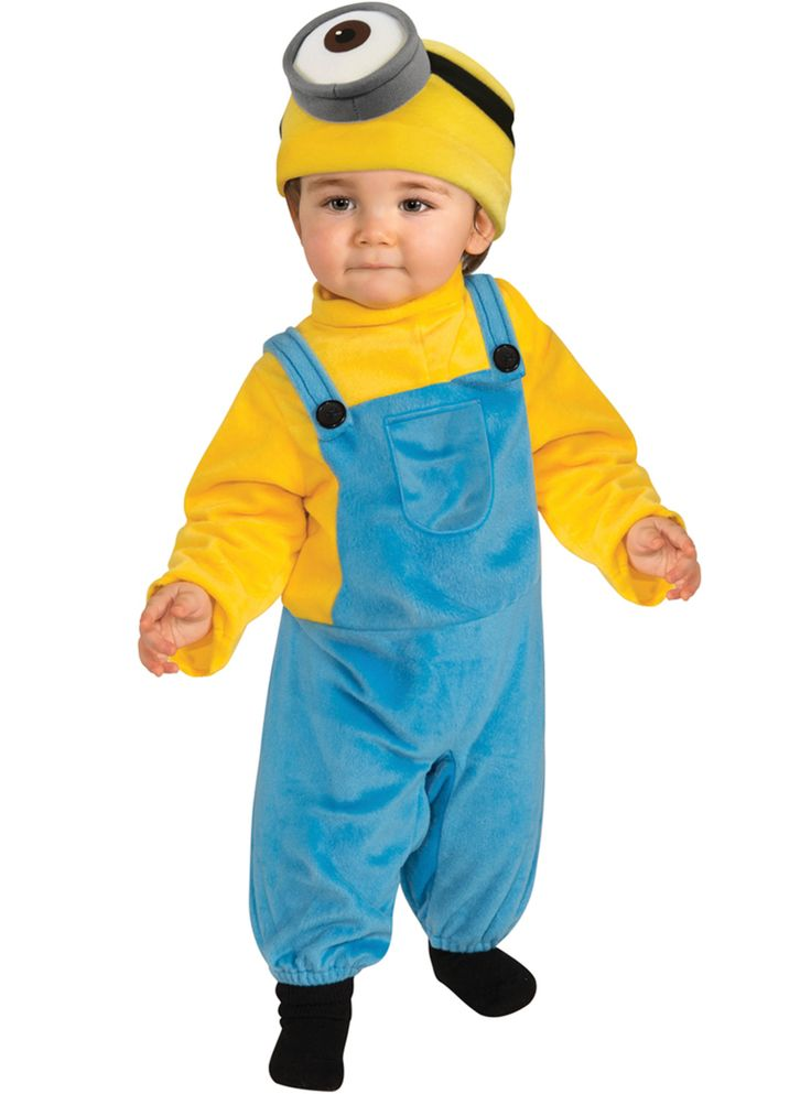 Kostuum Minion Stuart voor baby's