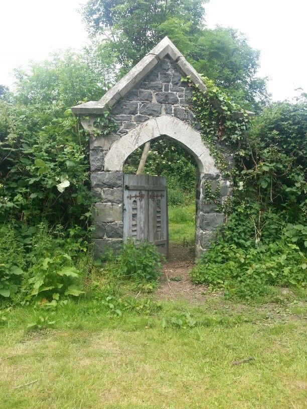 Platts Farm, secret garden
