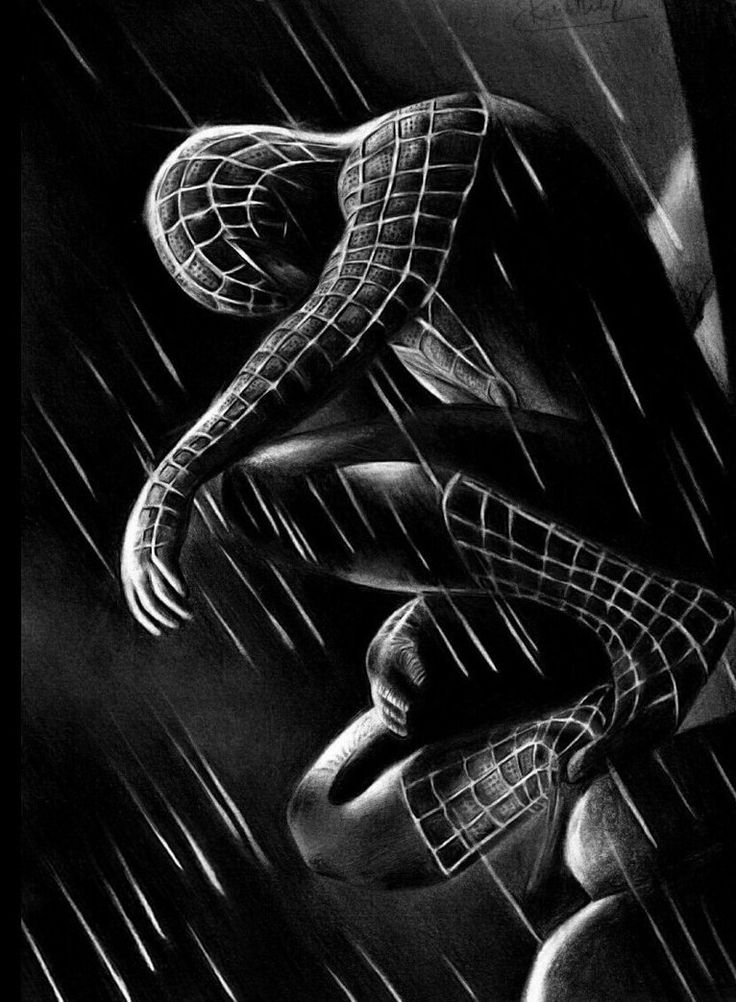 30 cool spiderman wallpaper inspirational stuff black - Black and white spiderman wallpaper ...