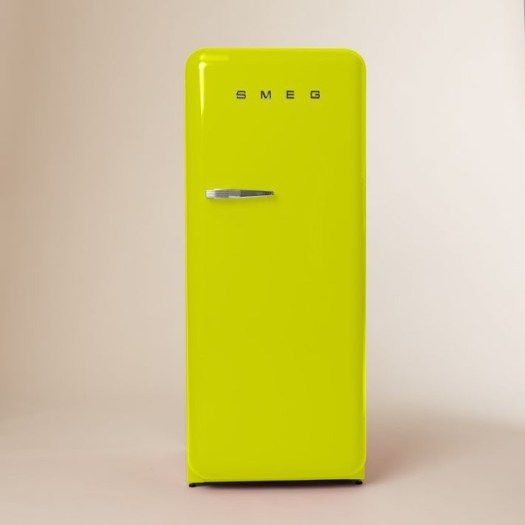 Neon Green Smeg Vintage Refrigerator –  Refresh Your Home with Tropical Greenery – NONAGON.style