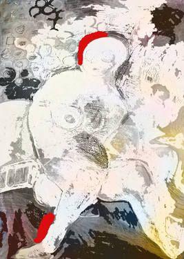 "Saatchi Art Artist Ioana Serban; New Media, ""white up"" #art"