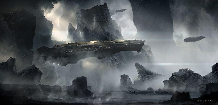 SIGILO by Juan Pablo Roldan   Sci-Fi   2D   CGSociety