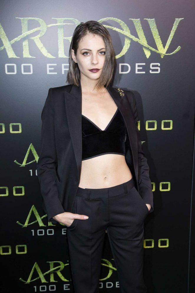 Willa Holland at the #Arrow 100th episode celebration
