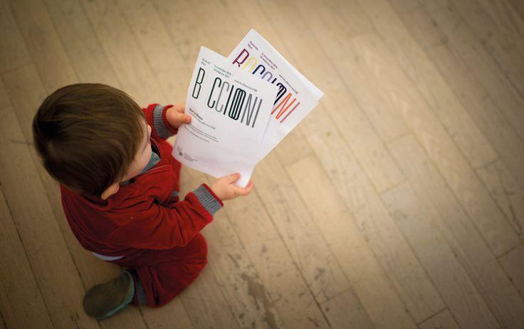 """I nostri piccoli visitatori non si lasciano intimidire da un grande artista. """"Umberto Boccioni. Genio e memoria"""", 5 novembre 2016 - 19 febbraio 2017, Mart Rovereto Foto Lorenzo Viesi"""