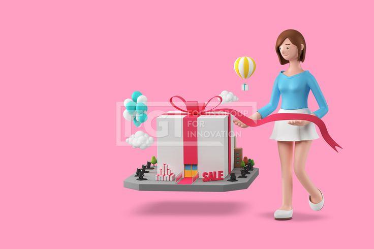 FUS161, 프리진, 그래픽, 사람, 3D, 입체, 입체적인, 입체효과, 비주얼, Create, 캐릭터, 인물, 직업, 에프지아이, 배경, 백그라운드, 편집포토, 창조, 1인, 귀여운, 여자, 행사가, 행사, 이벤트, 활동, 선물, 기획, 풍선, 열기구, 선물상자, 세일, 쇼핑, 구름, 리본, FUS161a, graphic, graphics  #유토이미지 #프리진 #utoimage #freegine 20101670