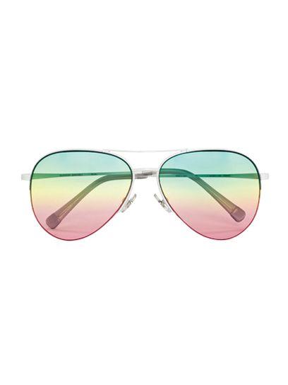 Sama rainbow sunglasses. Want.