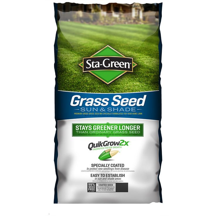 Sta-Green 3-lb Sun and Shade Grass Seed
