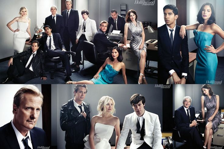 The Newsroom cast