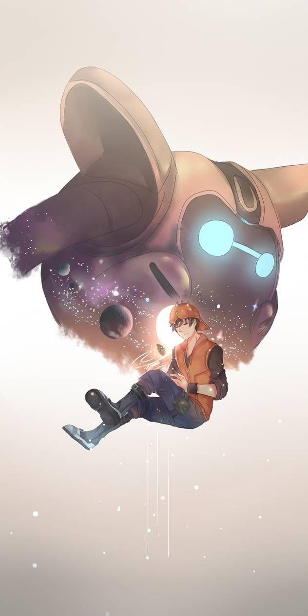 At Lunar By Onchan00 On Deviantart Boboiboy Anime Cute Galaxy Wallpaper Boboiboy Galaxy