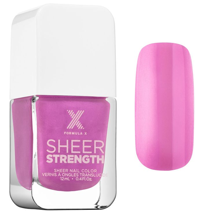 This is a great polish. It is the best sheer color I've ever used because it blends well without a single streak They're subtle and beautiful. My nails don't break or peel as often since using. -SunnyInSLC #Sephora #TodaysObsession