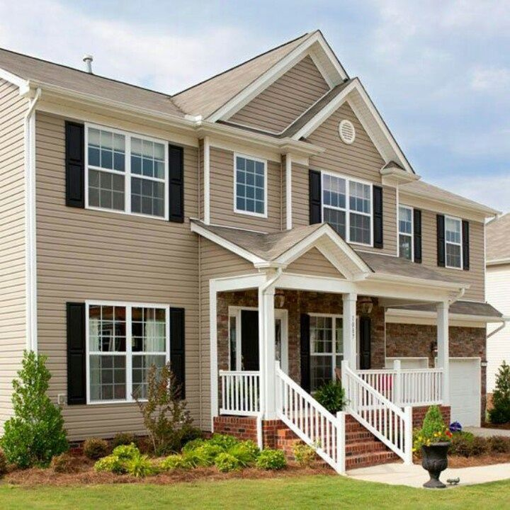 9 Best Clay Color Siding Images On Pinterest Exterior